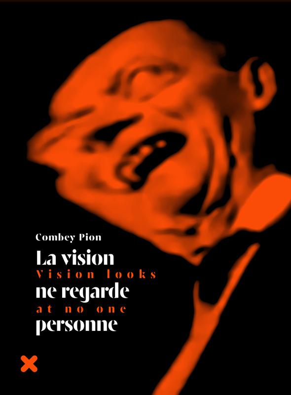 """Livre """"La vision ne regarde personne"""", Combey Pion, HYX"""