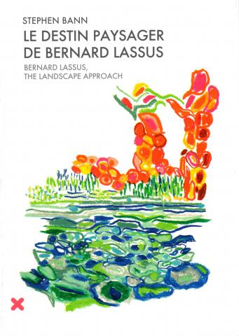 Book cover Bernard Lassus, The Landscape approach, Stephen Bann, HYX